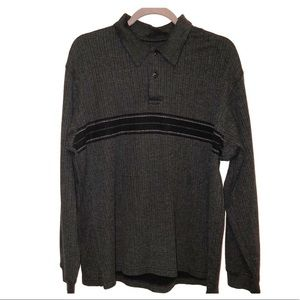 ARROW long sleeve shirt dark gray